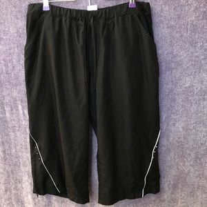Danskin work from home cropped pant plus size 16